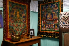 Tangkhas tibétaines  anciennes originales