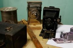 matériel photo similaire à celui utilisé par Alexandra David-Néel