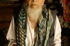 Portrait-vieil-homme-Asie centrale-LMBlanchard