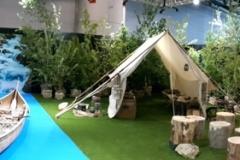05-canoe et tente de coureur des bois