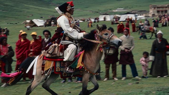 """""""Tibet, les cavaliers du vent"""" - extrait"""