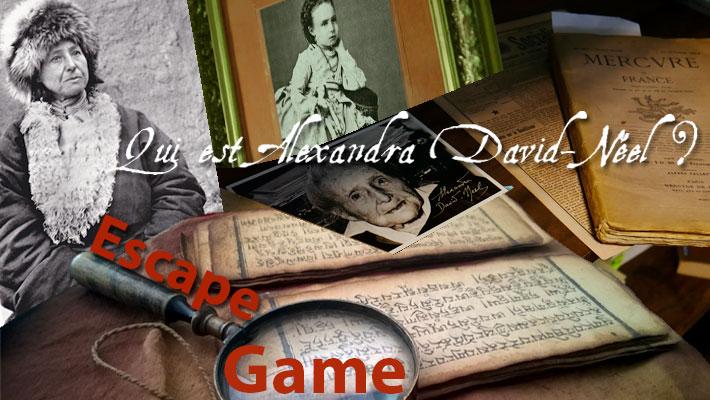 "Escape Game – ""Qui est Alexandra David-Néel ?"""