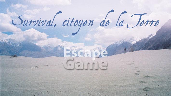 """Escape Game – """"Citoyen de la Terre"""""""